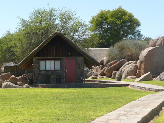 Cañón Fish River, Namibia: Our home for the night