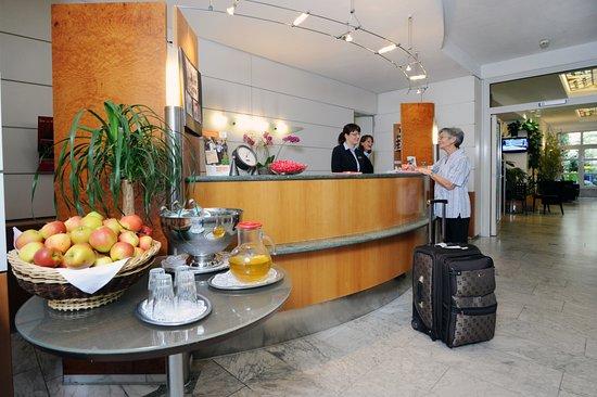Hotel Unger beim Hauptbahnhof: Rezeption
