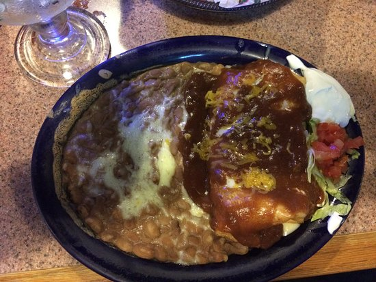 Springdale, أركنساس: Bean chimichanga