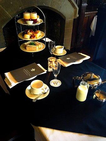 Badsworth, UK: Afternoon Tea In The Oak Room