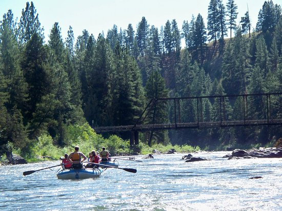 Greenough, MT: White water river rafting on the Blackfoot River!