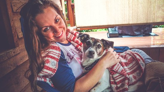 Finger Lakes, NY: Being cozy with the pup