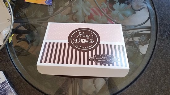 Irvine, Californië: Donut box