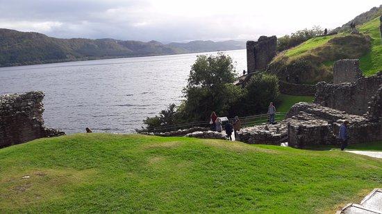 Drumnadrochit, UK: Ruinas Castelo