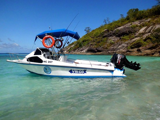 """Gerry's Private Charters: VIRGO - just refitted with New """"Lean Burn"""" Suzuki 4 stroke 60HP"""