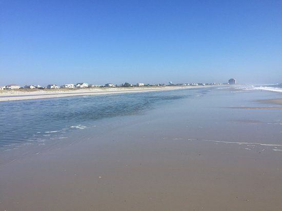 Looking North on Brigantine Beach