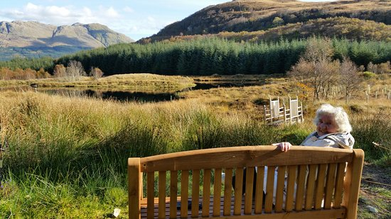 Duror, UK: Lady Mary at the Lochan