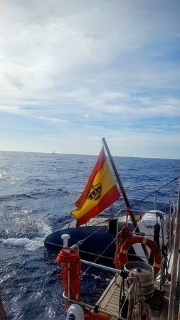 Viajes en barco Freebird: The Spanish Flag on the F13