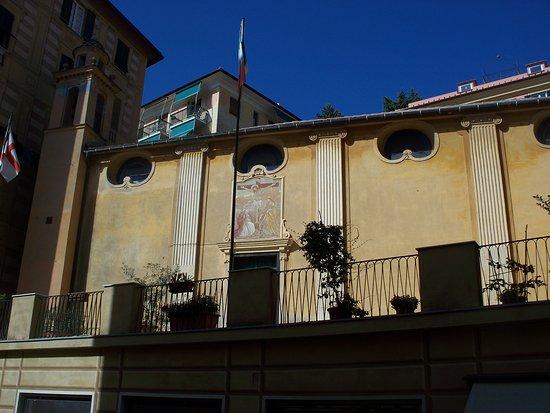 Camogli, Italy: facciata laterale