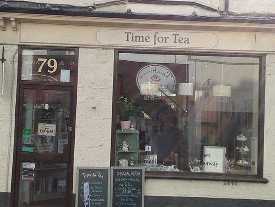 Street, UK: Time for Tea Shop Front