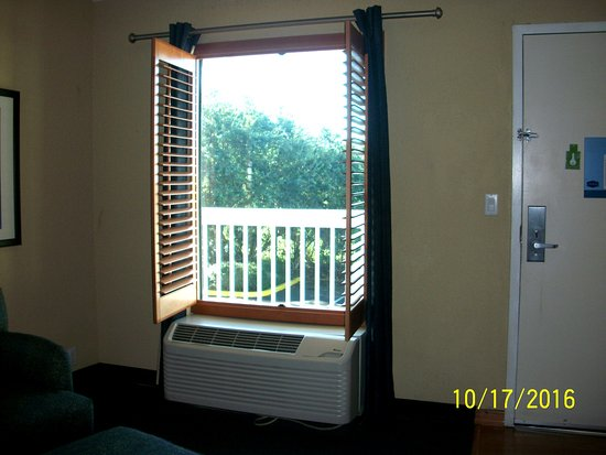 Hampton Inn Clearwater Central: Wood Blinds that Open