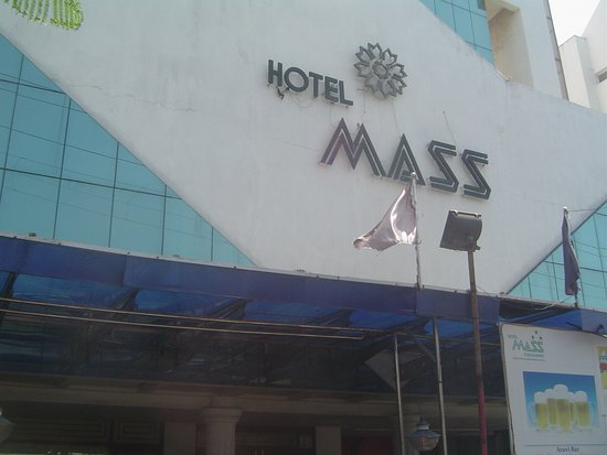 Hotel Mass: Front View of the hotel