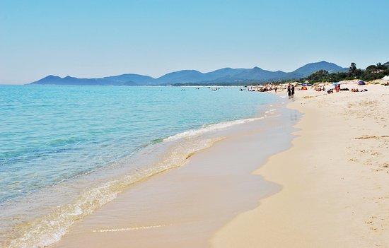 Spiaggia bild von spiaggia piscina rei muravera tripadvisor - Spiaggia piscina rei ...