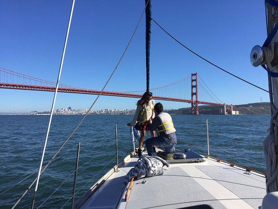 Sausalito, CA: Perfect Proposal on the 50 Foot Osprey
