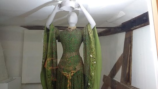 Tenterden, UK: Ellen Terry's 'Lady Macbeth' costume currently on display