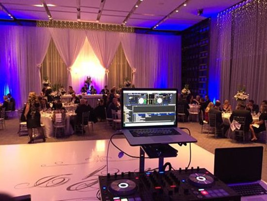 Four Seasons Hotel Toronto My View Of The Wedding Reception Which Was Held In Their