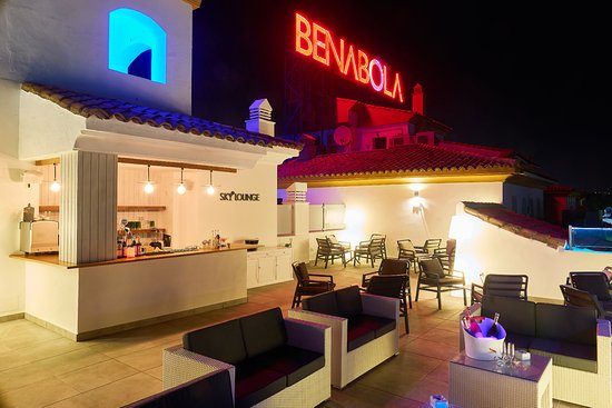 Benabola Hotel & Apartments: Our Terrace Sky Lounge