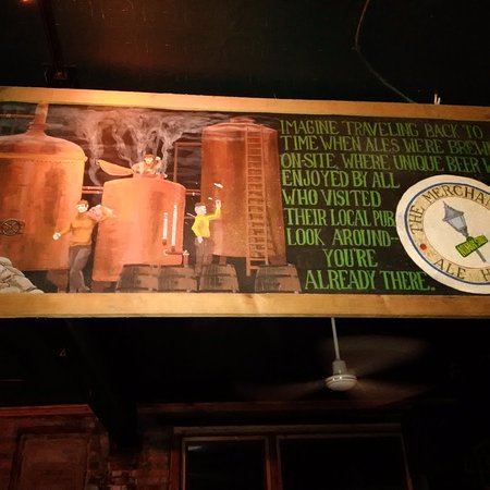 The Merchant Ale House: Locally brewed