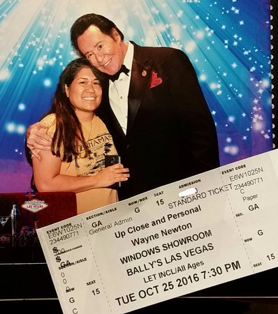 """Wayne Newton: """"Once Before I Go"""" : Meet and greet after the show!"""