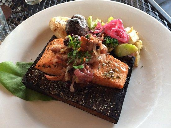 Alder Wood Bistro: Planked Salmon