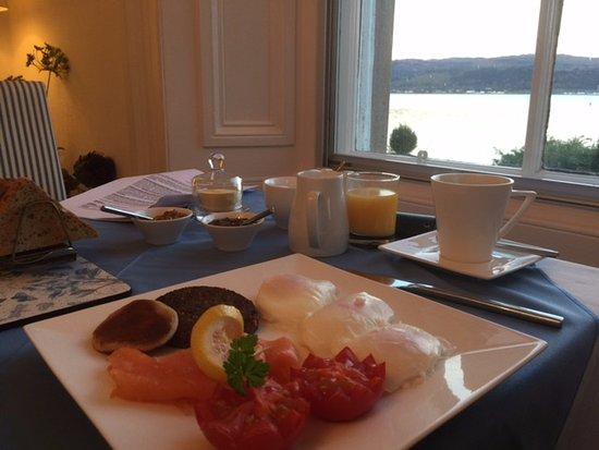 Cairndow, UK: Breakfast