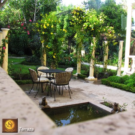 Hotel Villa San Francisco: Nuestro Jardin
