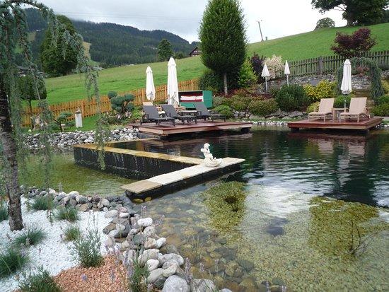 Rohrmoos-Untertal, Østerrike: neuer Badeteich