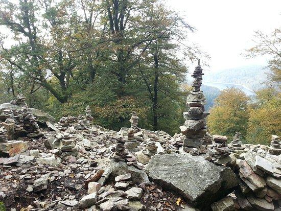 Steinmänner am Keltenring