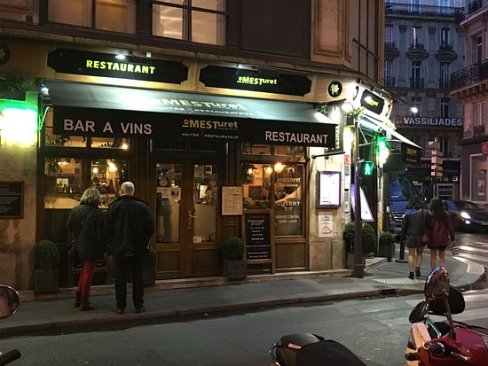 Le Mesturet Restaurant Paris