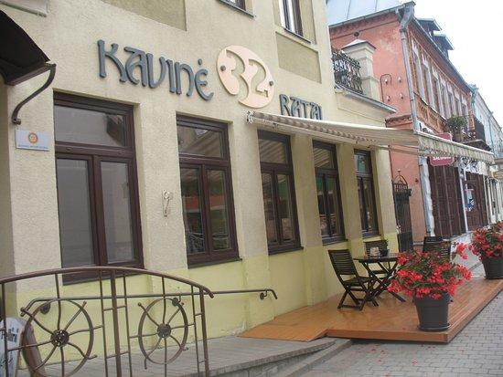 Kedainiai, Lituanie :  Kavinė 32 Ratai