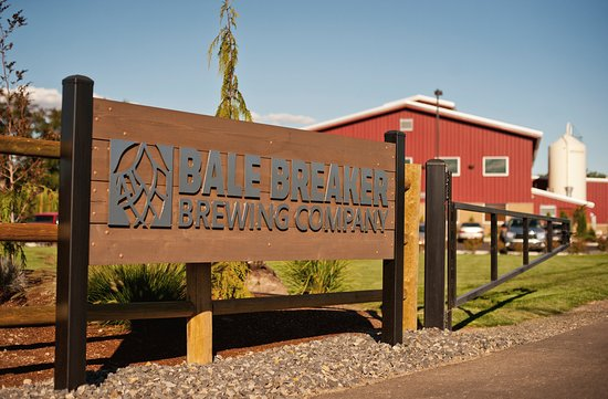 Yakima, WA: Entrance to the brewery, located in hop field #41