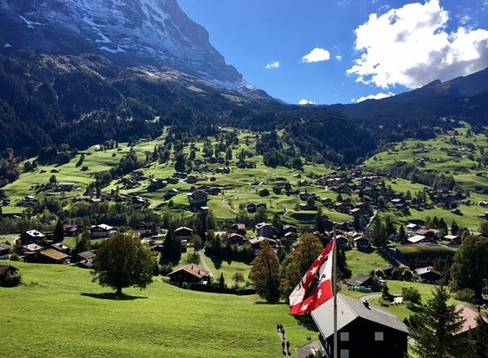Jungfrau Lodge Swiss Mountain Hotel : view from room