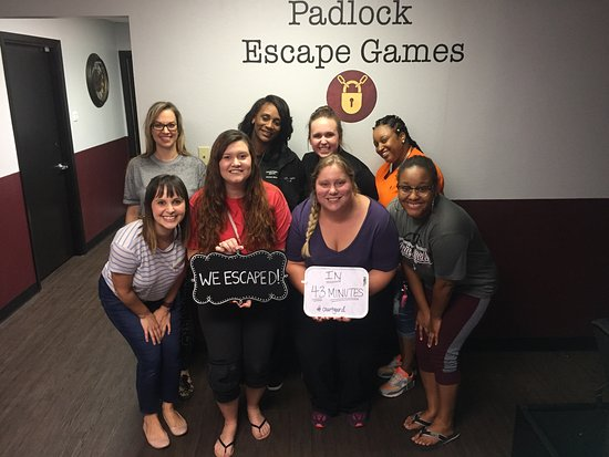 Padlock Escape Games: College Station