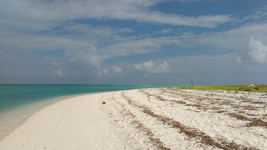 Bangaram, India: blue water & white sand~Dreamland