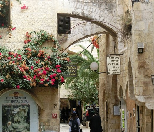old city jerusalem - jewish quarter - Picture of Bein Harim Tourism Services ...