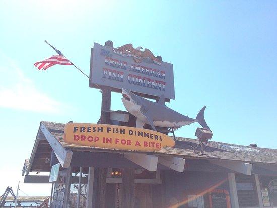 Great American Fish Co: la devanture du restaurant