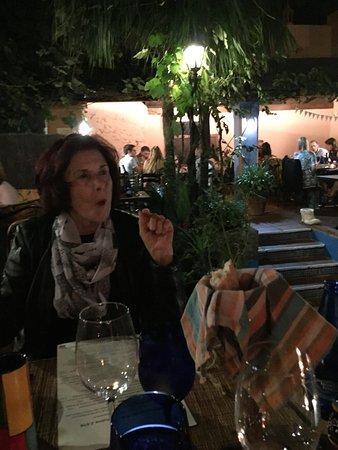 Benahavis, Spanien: Verhalen in tripadvisor voldeden aan de verwachtingen, romantische plekje, goed eten en perfecte