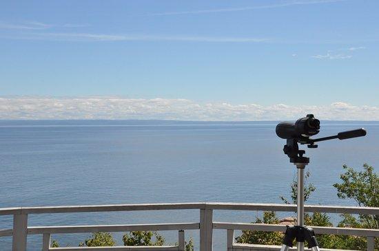 Les Escoumins, Kanada: Observation de la baie