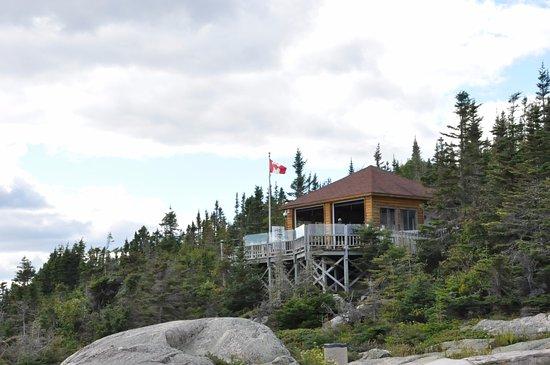 Les Escoumins, Kanada: Le centre d'observation