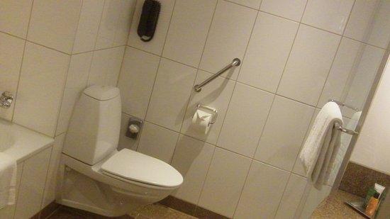 Hilton Copenhagen Airport: Tub and shower!