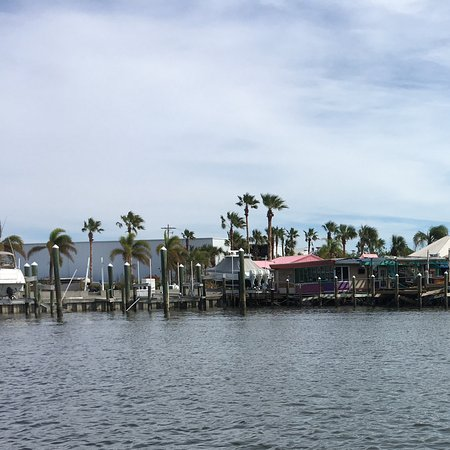 Inlet Harbor Restaurant, Marina & Gift Shop : What's left of the canopies