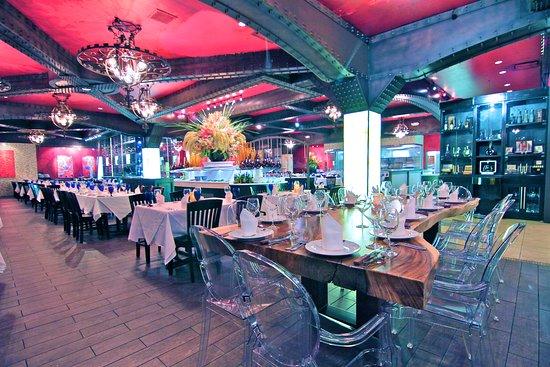 Texas de Brazil: Dining area