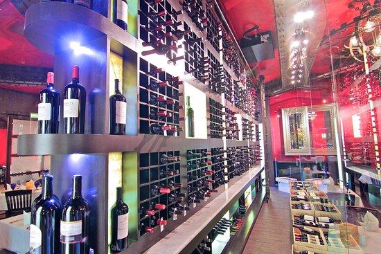Texas de Brazil: Wine Cellar