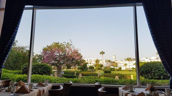 Baron Resort Sharm El Sheikh: Vista desde el comedor