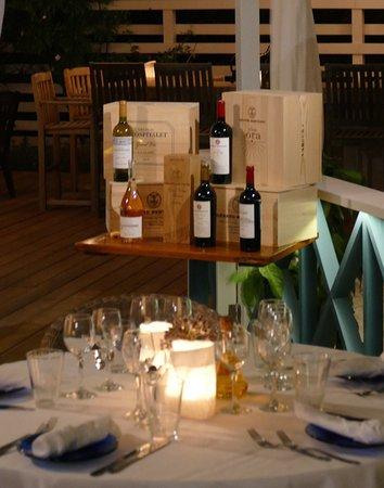 Saint George, Αντίγκουα: Gerard Bertrand Wine Tasting