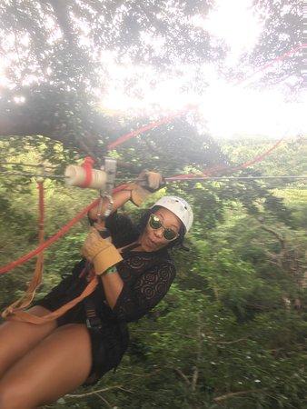 Rincon de La Vieja, Costa Rica: Zipling