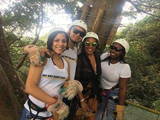 Rincon de La Vieja, Costa Rica: TreeTop Zipling