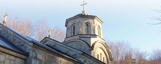 The Cupole of Monastery Tresije, Sopot, Serbia