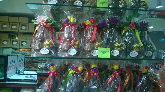 Jacques Torres Chocolate Haven : bunnies
