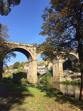 Mother Shipton's Cave and The Petrifying Well: The ancient viaduct.